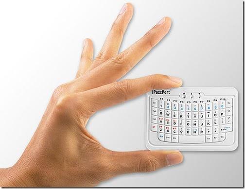 blue tooth thumb keyboard